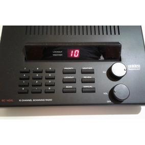 Radio Scanner De Mesa - Faixas De Frequencias Limitadas
