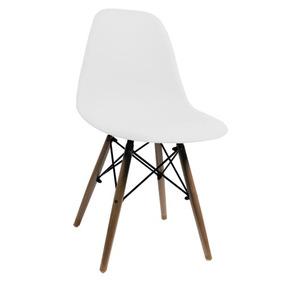 Cadeira Charles Eames Com Pés De Madeira - Tander
