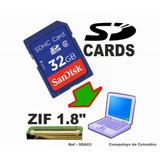 Computoys17 Adaptador Zif A Sd Card Disco Ssd Qsda03q Zsda03