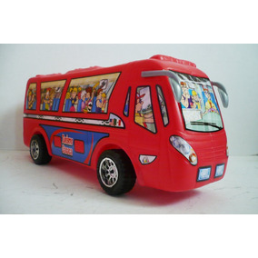 Autobus De Foraneo - Camioncito De Juguete Escala Bootleg