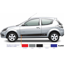 Kit Faixa Lateral P/ Ka Ford Ka Adesivos Laterais Acessórios