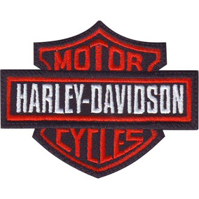 Harley Davidson Bikes Choper Motos Parches Bordados