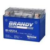 Bateria Gel Honda Cb 1100 -2010 Diante Brandy F.gratis Gtz14