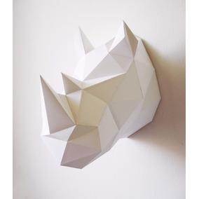 Papercraft 3d - Cabezas De Animales - 15 Modelos En Total!!!