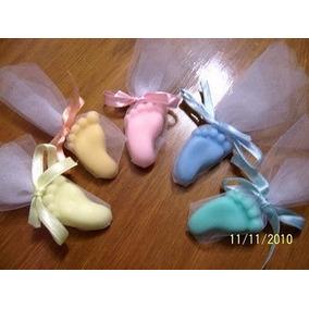 Souvenirs Jabones Piecitos Nacimiento Baby Shower