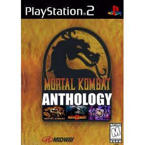 Jogo Ps2 Mortal Kombat Anthology + Frete Grátis.