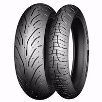 Par Pneu 120/70-17 + 160/60-17 Michelin Pilot Road 4 Radial