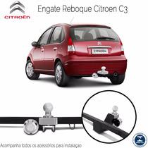 Engate Reboque Citroen C3 Até 2012 Não Fura - 500kg