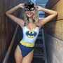 Fantasia Body Feminino Heroi Batman + Mascara Festa Adulto