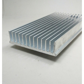 Dissipador Calor Aluminio 10,4cm Largura C/ 10cm