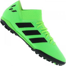 Chuteira Adidas Society F50 Adultos - Chuteiras Verde claro no ... 74670496cffbe