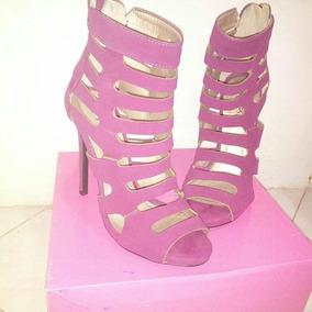 Zapatos Altos Color Begoña Talla 37 Ultimo Disponible
