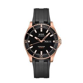 Relógio Mido Ocean Star Captain V Black Dial Masculino