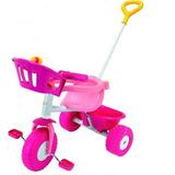 Juguete Rondi 3500 Triciclo Metal Pink