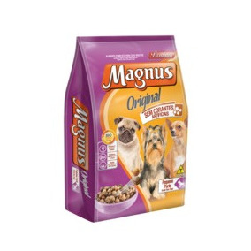 Ração Magnus Original Para Cães De Pequeno Porte 15 Kg