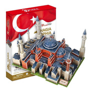 Puzzle 3d Hagia Sophia Ayasofya Estambul Cubicfun Mc134h