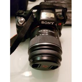 Câmera Sony Alpha A33 + Lentes E Acessórios