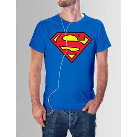 Remera Superman - Logo - Calidad Premium