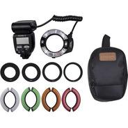 Flash Circular Yongnuo Yn-14ex Ii Ttl Macro Ring Para Canon