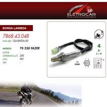 Sonda Lambda Yamaha Ys 250 Fazer 09 Em Diante (sensor De Oxi