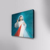 Cuadro Decorativo Señor De La Misericordia En Canvas 30x30cm