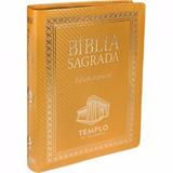 Bíblia Sagrada Templo De Salomão Ediçãoespecial Nova Dourada