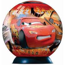 Rompecabezas 3d Ball Disney Cars 108 Pz Ravensburger 11607