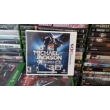 Michael Jackson The Experience 3d,nintendo 3ds Nuevo,new.