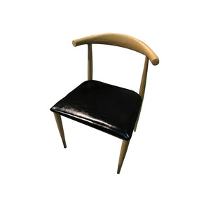 Silla Cuero Y Madera Diseño Escandinavo Silla Ancha Cómodas