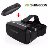Vr Shinecon Box Gafas Lentes De Realidad Virtual + Mando