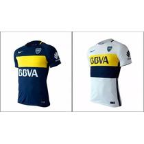 Camisetas Boca Jrs Modelo Nuevo Titular Y Suplente