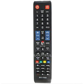 sky controle remoto para tv samsung no mercado livre brasil. Black Bedroom Furniture Sets. Home Design Ideas