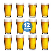 Vaso Vidrio Cerveza Pinta Stout 473 Ml Nadir Cod 7051 X 12