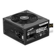 Fuente Pc Gamer 650w Reales 80 Plus 41a Atx Protección Volta