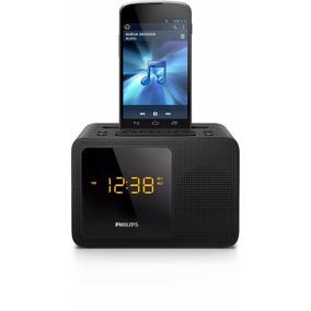 Radio Reloj Despertador Bluetooth Aux 3.5 Alarma Philips