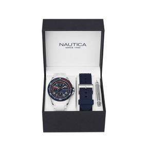 Reloj Nautica Box Set Para Caballero-nad14533g