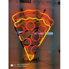 Letrero Luminoso De Neon De Pizza Fiesta Bar Danbai Neon
