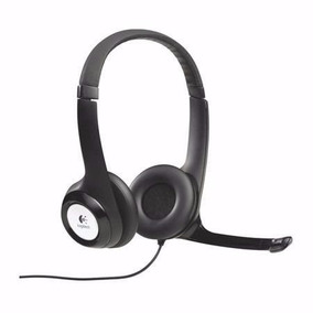 Fone De Ouvido Logitech H390 Usb Headset Com Microfone