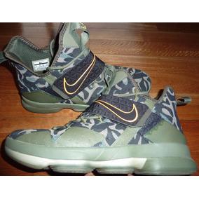 Zapatillas Nike Lebron James 14 Xiv Nba Basket Talle Us 11