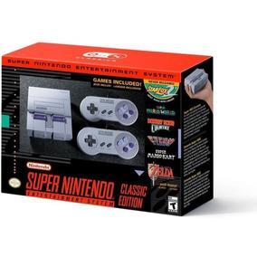 Super Nintendo Classic Us + 30 Jogos Memoria C/notafiscal