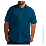 Kit 4 Camisa Social - Plus Size - Cores Personalizadas