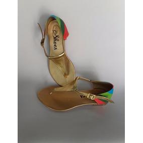 Sandalia Para Mujer Elegante Calzado Colores Envío Gratis
