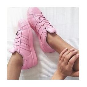 adidas clasicas rosadas