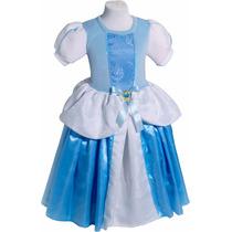 Disfraz Cenicienta Tradicional Princesas Primera Calidad