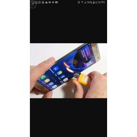 Celular Samsung Edge S7 Color Plata Seminuevo