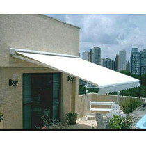 Toldo Retractil 4x3 Estructura Acero Color Blanco Env Dhl