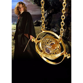 Colar Vira-tempo Harry Potter Hogwarts Hermione