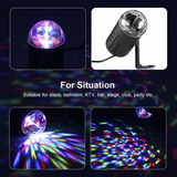 Luz Mini Disco Dj Rgb Stage Xmas Party Lighting Laser Projec