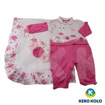 Kit Saída Maternidade Sonho Mágico Luxo Fr Grátis Kero Kollo
