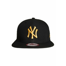 Boné New Era Aba Reta Snapback Aberto Mlb New York Yankees